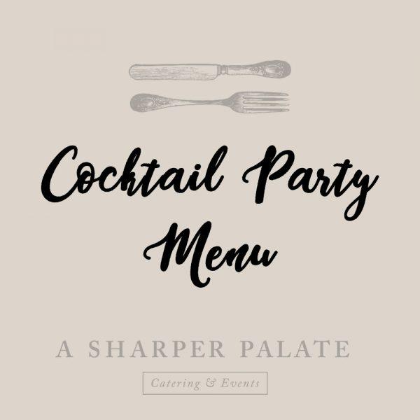 cocktail-party-menus